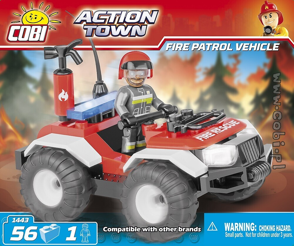 Fire Patrol Vehicle