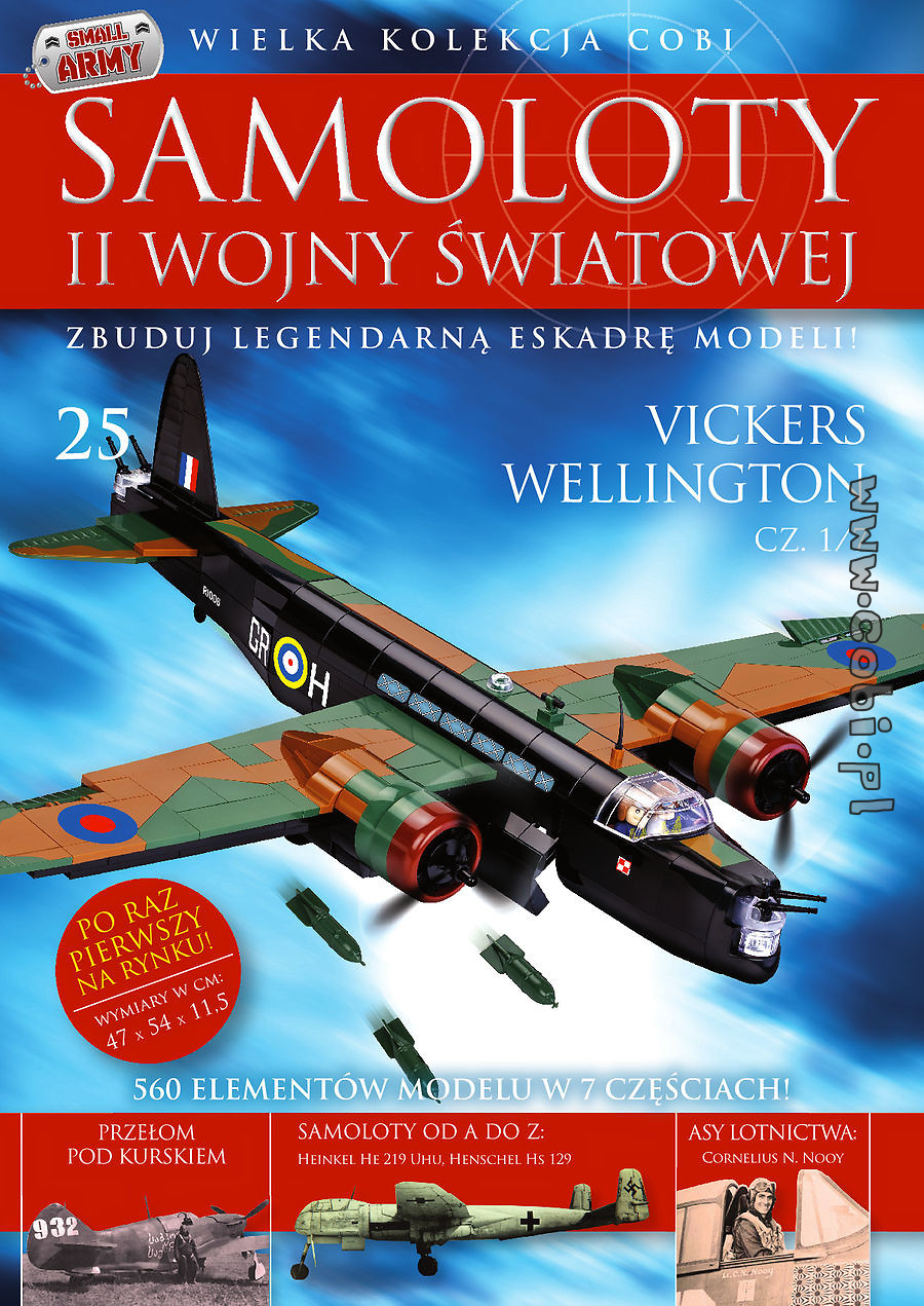 Vickers Wellington cz.1/7  WW2 Aircraft Collect. No.25