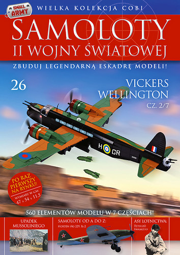 Vickers Wellington cz.2/7   WW2 Aircraft Collect. No.26