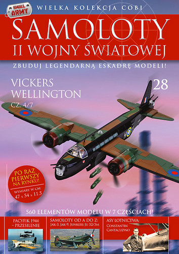 Vickers Wellington cz.4/7  WW2 Aircraft Collect. No.28