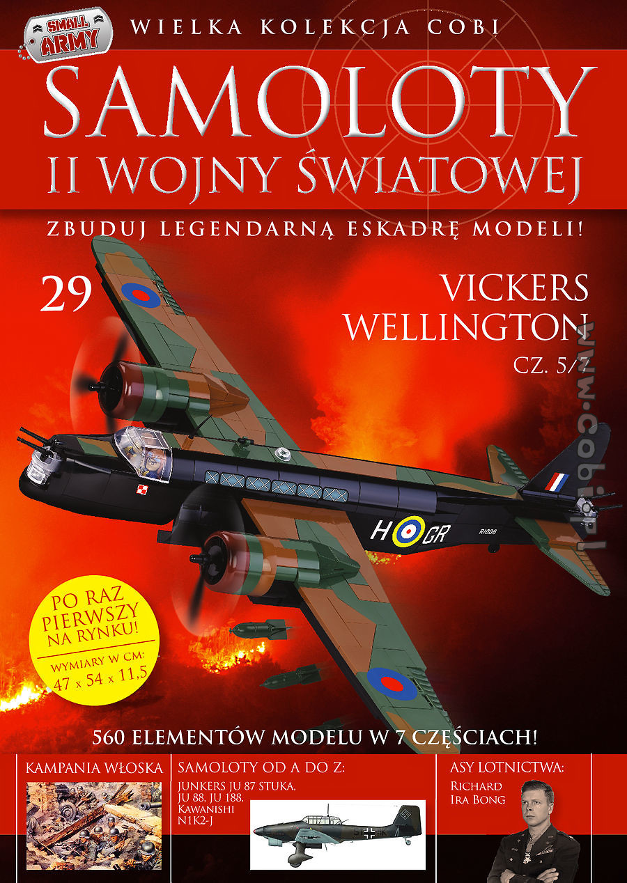 Vickers Wellington cz.5/7  WW2 Aircraft Collect. No.29