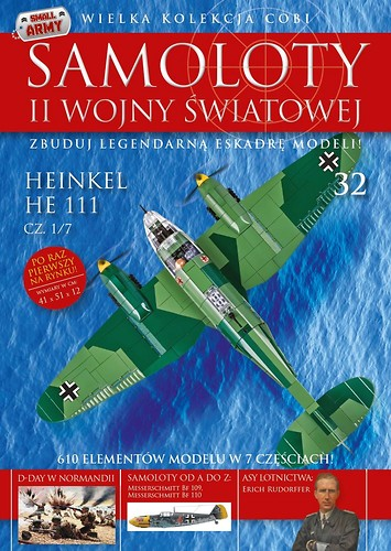 Heinkel He 111 cz.1/7  WW2 Aircraft Collect. No 32