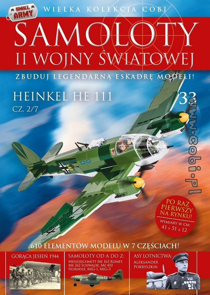 Heinkel He 111 cz.2/7  WW2 Aircraft Collect. No 33
