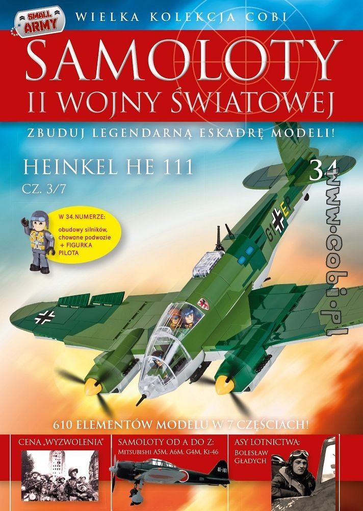 Heinkel He 111 cz.3/7  WW2 Aircraft Collect. No 34