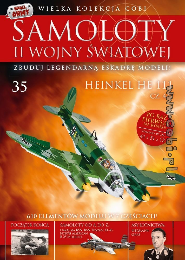Heinkel He 111 cz.4/7   WW2 Aircraft Collect. No 35