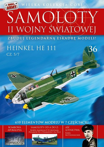 Heinkel He 111 cz.5/7  WW2 Aircraft Collect. No 36