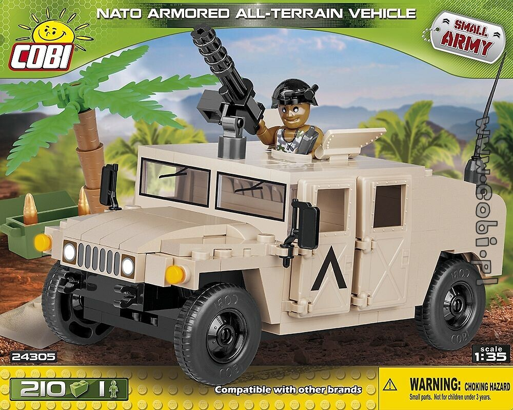 NATO Armored ALL- Terrain Vehicle