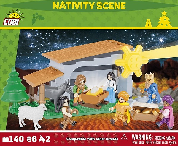 Nativity Scene v.2 140 blocks