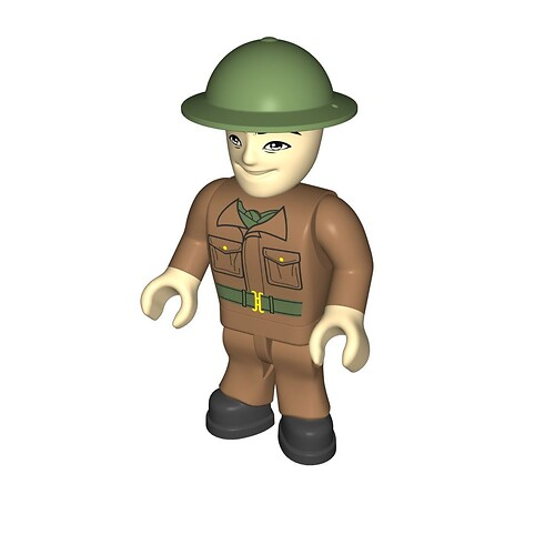 British soldier, tanker (416)