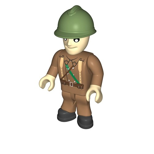 French soldier (483)