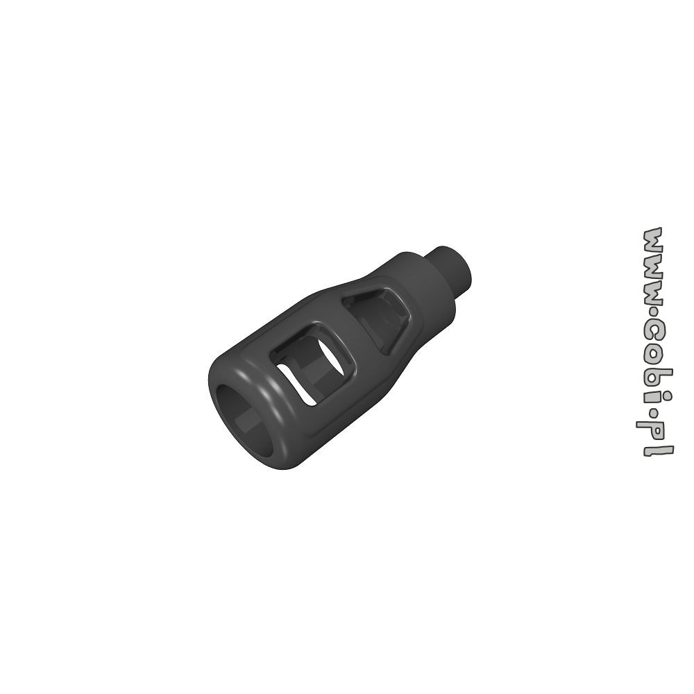 Barrel brake, large, black