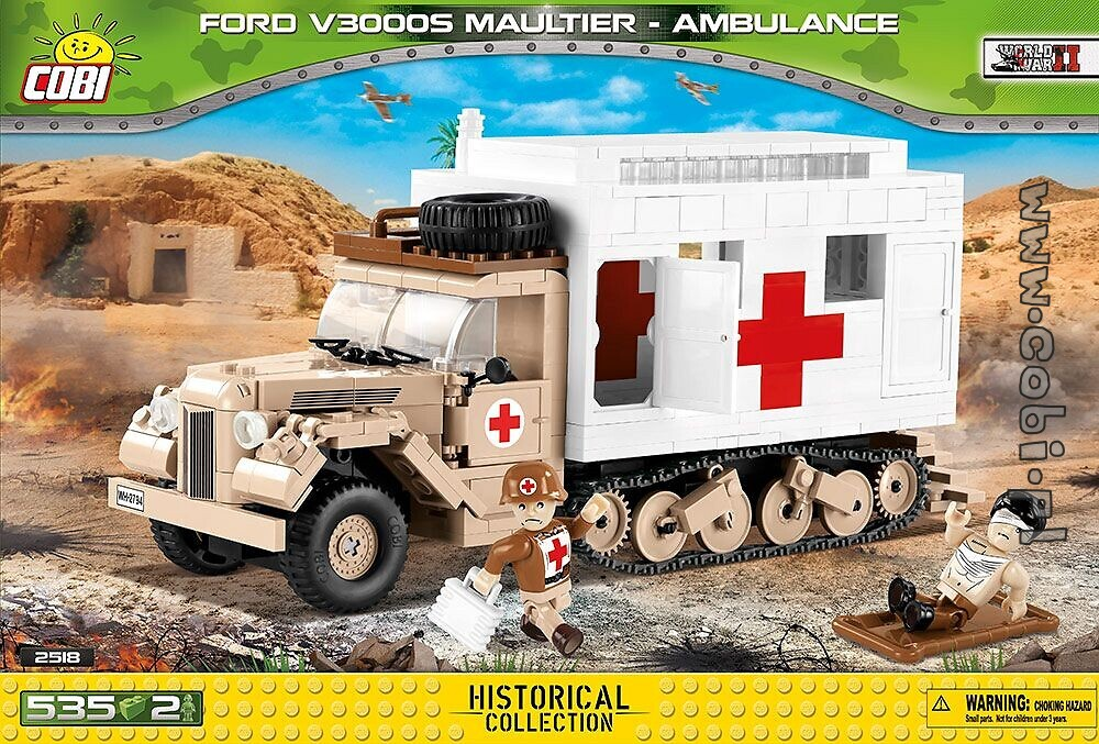 Ford V3000S Maultier Ambulance