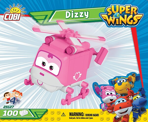 Dizzy 100 Blöcke Super Wings
