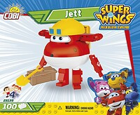 Jett 100 blocks Super Wings