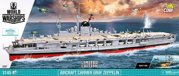 Aircraft Carrier Graf Zeppelin Limited Edition