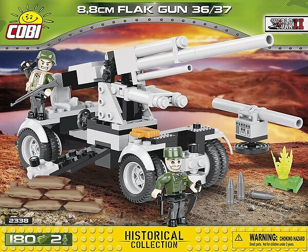 Flak 36/37 88 MM - on wheels