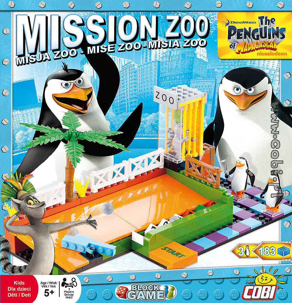 Mission ZOO - block game