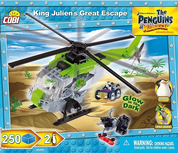 King Julien's Great Escape