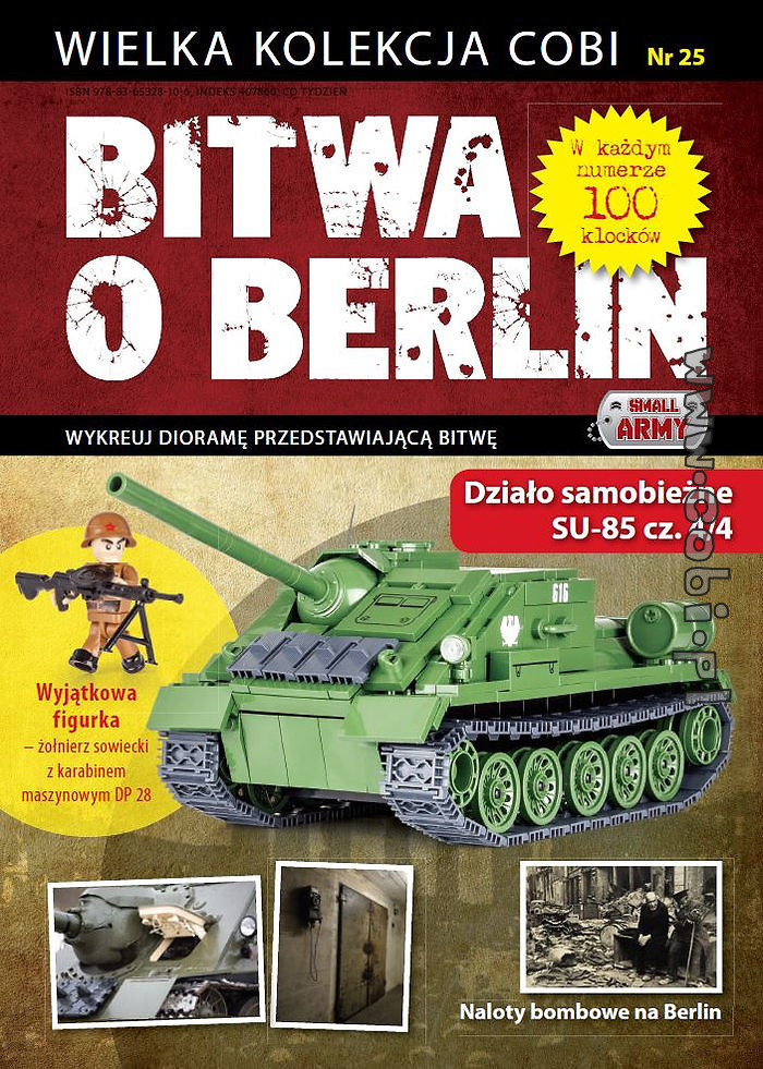 SU-85 (4/4) - Battle of Berlin No. 25