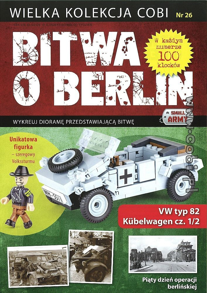 VW 82 Kübelwagen (1/2) - Battle of Berlin No. 26