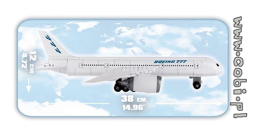 Spielzeug Boeing 777 Konstruktion Bausteine Flugzeug COBI 26261
