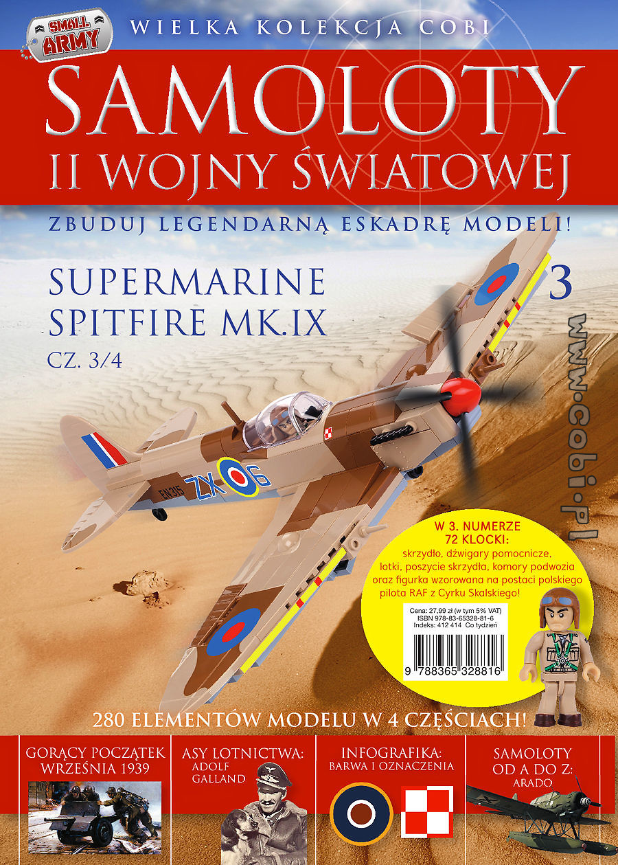 Supermarine Spitfire (3/4) WW2 Aircraft Collection No 3