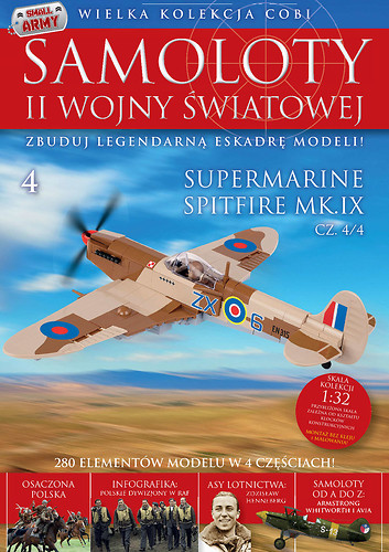Supermarine Spitfire Mk IX (4/4) WW2 Aircraft Collection No 4