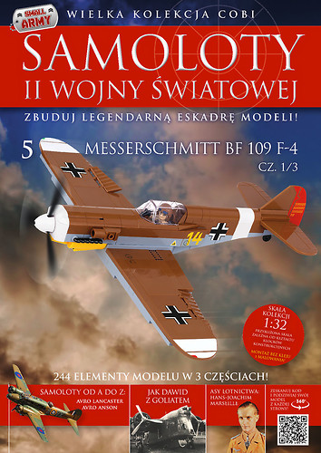 Messerschmitt Bf 109 F-4 Trop (1/3) WW2 Aircraft Collection No 5