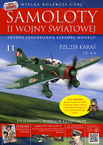 PZL. P-23B Karaś (4/4) WW2 Aircraft Collect. No. 11