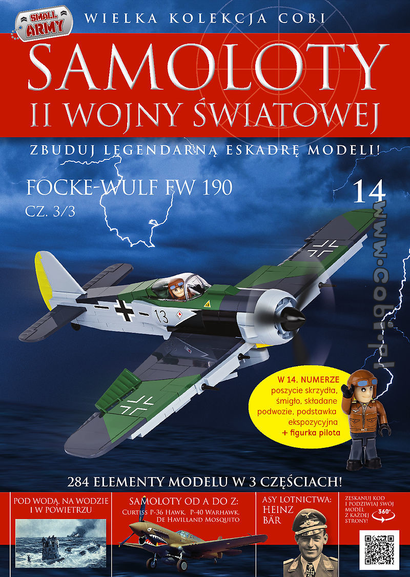 Focke-Wulf Fw190 A-8 cz.3/3 WW2 Aircraft Collect. No. 14