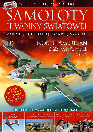 North American B-25 Mitchell cz.1/6 WW2 Aircraft Collect. No. 19