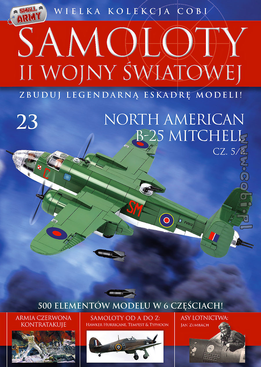 North American B-25 Mitchell cz.5/6WW2 Aircraft Collect. No. 23